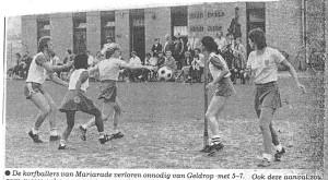 Korfbal -KV Mariarade Paula Kwasanco